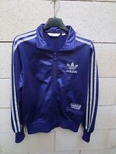 Veste ADIDAS CHILE 62 violet rétro vintage tracktop jacket femme girl 40 trefoil