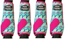 Weaver Prodigy Performance Athletic Horse Sport Boots 4 Pack Tribal M