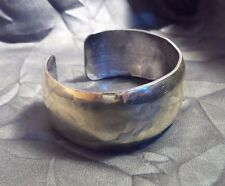 Stunning Chief Dodge Artists Sterling Silver & Gilt Native American Bracelet