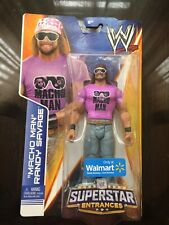 WWE MACHO MAN RANDY SAVAGE Figure  SUPERSTAR ENTRANCES Walmart Exclusive