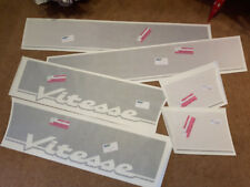 Rover Vitesse SD1 Side Decals Stickers Reproduction Black