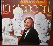 JAMES LAST IN CONCERT 2371 191 POLYDOR RECORDS VINYL LP ALBUM RECORD