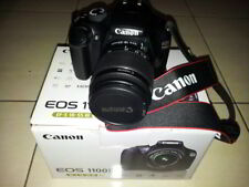 New Canon EOS 1100d Digital Camera With Charger, Zoom Lens, Carry Bag And Covers