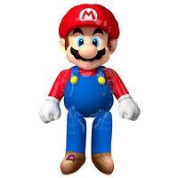 "60"" Official Nintendo Super Mario AirWalkers XL Gamers Birthday Party Decoration"