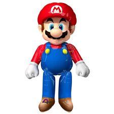 """60"""" Oficial Nintendo Super Mario Airwalkers XL a los jugadores Decoración Fiesta De Cumpleaños"""