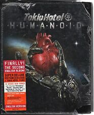 dvd + cd + bandiera HUMANOID Tokio HOTEL SUPER DELUXE EDITION English version