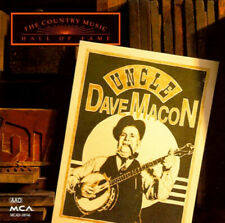 Country Music Hall Of Fame : Uncle Dave Macon ~ Macon, CD