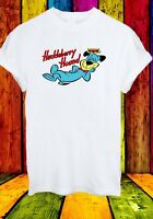 The Huckleberry Hound Anthropomorphic Dog Cartoon Men Women Unisex T-shirt 840