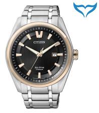 Citizen Super Titanium Herren Armbanduhr AW1244-56E Saphir Eco-Drive Herrenuhr