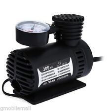 Mini 12V 300PSI Electric Car Inflatable Pump Portable Air Compress Tire Inflator