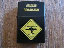 Aussie Roadsign fuel lighter