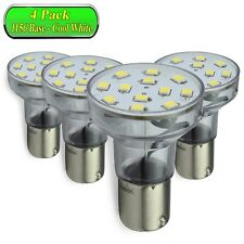 4 Pack LeisureLED  Light 1156 1139 1141 1383 LED Bulb 2 Watt 275 Lumen CW Long