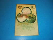Antique Postcard Saint Patrick's Day  SHAMROCK IAPC #1111 signed Clapsaddle 1911