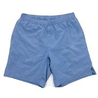 Myles Make Moves Everyday Shorts Mens Large Blue Athletic Drawstring Stretch