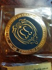 Disney Disneyland Club 33 50th Anniversary LIMITED EDITION Challenge Coin