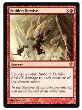 Commander 2013 ** 4x Sudden Demise x4 ** Mtg Magic (EX+/NM-)