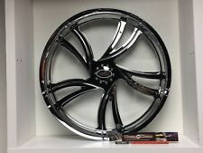"09 up Harley Davidson 23"" front Wheel Custom Chrome Wheel Style 116c"