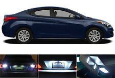 LED Package - License Plate + Vanity + Reverse for Hyundai Elantra (6 Pcs)