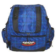Innova HeroPack Disc Golf Backpack/Bag, 20-30 Disc Storage, Blue Plaid, New