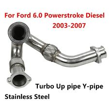 Turbo Up pipe Y-pipe for 03-07 Ford 6.0 Powerstroke Diesel F-250 F-350 Excursion