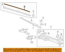 HONDA OEM 16-17 Civic Wiper-Windshield-Wiper Blade Refill Right 76632T6LH03