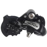 Shimano Altus Bike Bicycle Short Cage Rear Derailleur RD-M310 7/8S Speed Black