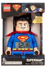 LEGO® DC Superman Minifigure Voice Alarm Clock