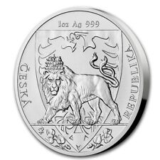 NIUE 2 Dollars Argent 1 Once Lion Tchèque 2020