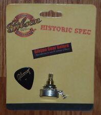 Gibson Les Paul Pot Historic 500k Audio Taper Short Shaft Guitar Parts R9 R0 R7