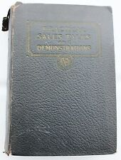 Complete 1925 Practical Sales Talks Demonstrations How to Sell  1 - 8 1 - 64