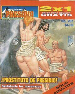 RELATOS DE PRESIDIO MEXICAN COMIC #292 MEXICO SPANISH HISTORIETA 2000 CRIME