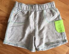 Boys George Shorts Age 6-9months.elasticated Waist.grey.weight 21lbs/9.5kg.