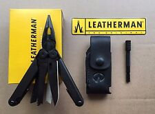 Leatherman WAVE Black Multi-Tools+Leather Sheath+Bit Driver Extender Black
