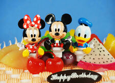 Disney Mickey Mouse Minnie Donald Toy Figure Cake Topper Decoration K1231 ABC