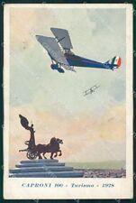Aviazione Civile Aereo Caproni 100 1928 Ferrari cartolina XF7105