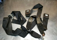 EARLY TOYOTA PICKUP TRUCK HILUX SEAT BELT BUCKLE LEFT RIGHT SHOULDER RECEIVER