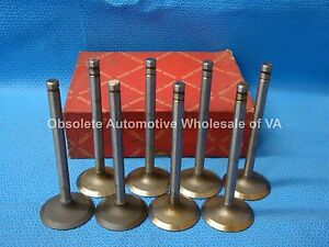 1956 1957 1958 AMC Rambler Nash Hudson 250 327 Intake Valve Set 8 3144987 Rebel