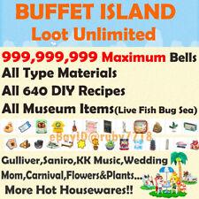 V1.10 Animal Crossing Treasure Island Unlimited Trips! Catalog/ Loot