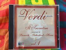 CD AUDIO GIUSEPPE VERDI 1813-1901 IL TROVATORE V°1 - 18 TRACCE DURATA 72:44