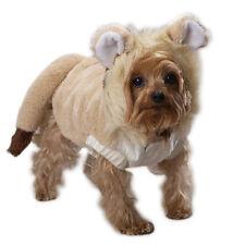 Lion Mane Plush DOG Pet Halloween Costume Lil' Lion Tail Roar LARGE w/free gift