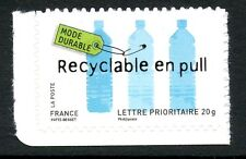 STAMP / TIMBRE FRANCE  N° 4212 ** ENVIRONNEMENT RECYCLABE EN PULL  / AUTOADHESIF