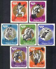 UNGHERIA 1973 Olimpiadi/GAMES/SPORT/MEDAGLIA vincitori/Cavalli/Scherma/Pugilato 7 V n36724