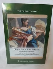 Great American Music Broadway Musicals 4 CDs Fine Arts and Music Course Guide