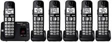 Panasonic KX-TGE445B + 1 KX-TGEA40B Handsets DECT 6.0 PLUS Cordless Phone System