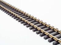 Train Line 10x120cm gerades Gleis (Messing)passend zur LGB mit Schraubverbindern