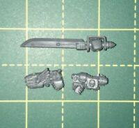 Vanguard Power Sword And Plasma/grav Pistols Space Marines Bits Warhammer 40k