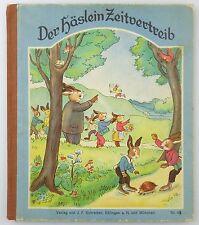 #e7575 original antico libro per bambini 1932, pubblicato il häslein divertimento