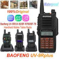 Baofeng UV-5R/UV-82/UV-9R Plus/BF-R760 Two Way Radio Walkie Talkie UHF VHF 128CH