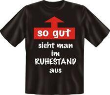 Fun  T-SHIRT  Ruhestand   Geburtstag Geschenk  Freunde Verkleidung  Gr. XL  Neu