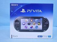 Sony PlayStation PS Vita PCH-2000 ZA11 Black Console Wi-Fi model Japan model New